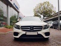 Bán Mercedes E300 AMG màu trắng sản xuất 2016, tại Đức, đăng ký 12/2016 tên công ty