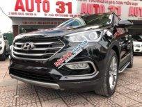 Cần bán xe Hyundai Santa Fe CRDi năm 2018, màu đen