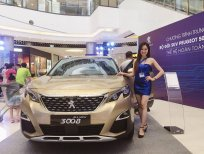 Bán Peugeot 3008 1.6 AT năm sản xuất 2020, màu vàng cát.