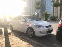 Cần bán xe Hyundai Accent Blue đời 2015, màu trắng, nhập khẩu