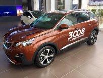 Bán xe Peugeot 3008 đời 2019, màu đỏ