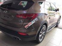 Bán xe Hyundai Santa Fe Crdi đời 2015, màu nâu, nhập khẩu