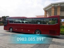 Xe khách Tracomeco phiên bản Universe Noble U47 chỗ màu nâu đỏ - động cơ Weichai giao ngay và luôn