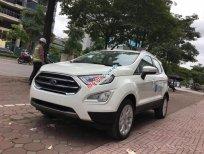 Cần bán xe Ford EcoSport 1.5l Titanium đời 2018, màu trắng giá sock T12, hỗ trợ giao toàn quốc