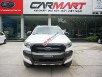 Cần bán xe Ford Ranger Wildtrak 3.2 2015, màu trắng, Hỗ trợ trả góp 70% giá trị xe, LH 0966988860