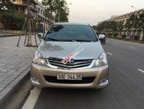 Chính chủ cần bán gấp Toyota Innova 2.0G sản xuất 2011, số sàn, màu vàng cát. Chính chủ gia đình đang sử dụng