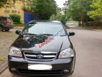 Bán xe Daewoo Lacetti EX năm sản xuất 2011, màu đen, giá 248tr