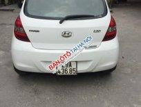 Bán xe ô tô Hyundai i20 màu trắng, nhập khẩu, mua và đăng ký tháng 12 / 2011