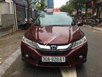 Bán xe Honda City 1.5AT sản xuất 2015, màu đỏ, 525tr