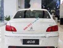 Bán Peugeot 408 Delu 2.0 AT đời 2016, màu trắng