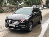 Bán xe Hyundai Santa Fe Crdi sản xuất năm 2017, màu đen