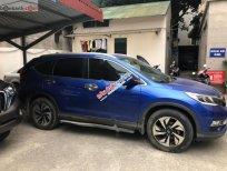 Bán Honda CRV 2.4AT 2015 bản full, màu xanh cực chất