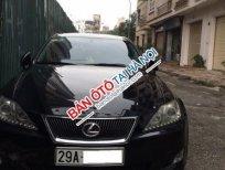 Cần bán Lexus IS 2.5V6 AT năm 2006, màu đen, xe nhập