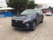 Bán xe Hyundai Santa Fe 2.4 sản xuất năm 2019, màu xanh lam