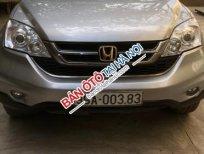 Cần bán lại xe Honda CR V 2.4 AT sản xuất 2010, màu bạc, giá 560tr