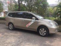 Gia đình cần bán chiếc xe Nissan Livina sx cuối 2011, màu ghi vàng, nội thất nguyên bản