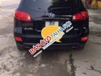 Bán lại Hyundai Santa Fe MLX đời 2009, màu đen, xe nhập