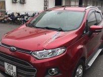 Cần bán xe EcoSport Titanium Sx 2014 chạy cực ít, màu đỏ