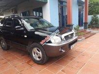 Bán xe Hyundai Santa Fe Gold 2003, màu đen, nhập khẩu nguyên chiếc số tự động