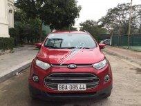 Cần bán xe Ford EcoSport Titanium sản xuất 2015, màu đỏ như mới