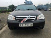 Bán xe cũ Daewoo Lacetti MT đời 2010, màu đen