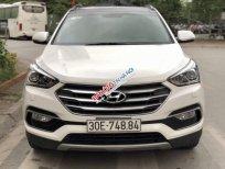 Bán Hyundai Santa Fe 2.4 2017, màu trắng, chính chủ