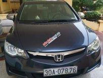 Cần bán Honda Civic 1.8 MT năm sản xuất 2007, màu đen