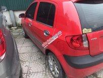 Gia đình bán xe Hyundai Getz số sàn MT 1.1,màu đỏ, tư nhân chính chủ, biển 5 số tiến đẹp