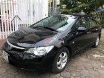 Cần bán lại xe Honda Civic AT sản xuất năm 2007, màu đen