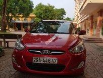 Cần bán gấp Hyundai Accent AT đời 2011, màu đỏ, xe nhập chính chủ, 365 triệu