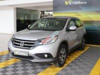 Cần bán Honda CR V 2.4AT năm 2014, màu bạc