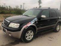Cần bán Ford Escape XLT AT 3.0 2006, màu đen chính chủ, giá 215tr