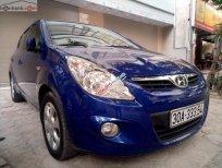 Gia đình bán xe Hyundai i20 đời 2010, rất tiết kiệm xăng, màu xanh đậm, số tự động