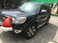 Cần bán gấp Ford Everest đời 2012, màu đen, số tự động, giá tốt