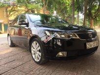 Cần bán Kia Cerato 1.6 AT năm sản xuất 2010, màu đen, nhập khẩu