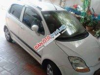 Cần bán xe cũ Chevrolet Spark LT 2010, màu trắng