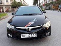 Cần bán gấp Honda Civic 2.0AT đời 2007, màu đen