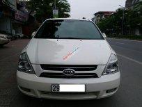 Kia Grand Carnival sản xuất 2005 Limited, máy dầu 2.9 số tự động, màu trắng, xe nhập khẩu Hàn Quốc