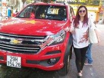 Bán xe Chevrolet Colorado bản tự động 1 cầu, xe nhập Thái Lan, đời 2018, màu đỏ, biển Hà Nội
