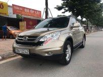 Cần bán Honda CR V 2.4AT sản xuất năm 2011, màu vàng