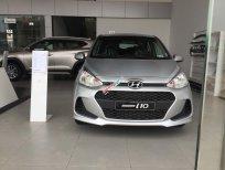 Bán xe Hyundai Grand i10 1.2 MT Base mới 2019, màu bạc, trắng giao ngay