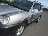 Bán ô tô Hyundai Santa Fe Gold đời 2005, màu bạc, xe nhập số tự động