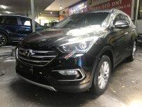 Cần bán Hyundai Santa Fe 2.4 đời 2017, màu đen