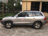 Cần bán lại xe Hyundai Santa Fe 2003, màu bạc, nhập khẩu