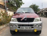Bán Daihatsu Terios 4x4 MT 2004, màu đỏ, nhập khẩu, số sàn