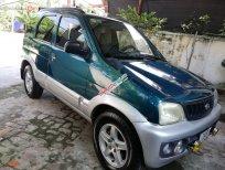 Cần bán Daihatsu Terios 1.3 4x4 MT sản xuất năm 2003, màu xanh lam