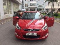 Bán xe Hyundai Accent sản xuất 2014, màu đỏ chính chủ, giá 455tr