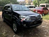 Bán Toyota Fortuner đời 2010, màu đen chính chủ