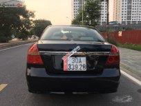 Bán Daewoo Gentra 1.5 MT năm 2008, màu đen số sàn, giá tốt