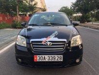 Cần bán Daewoo Gentra đời 2008, màu đen, số sàn
